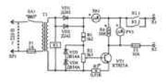 Простая схема зарядного устройства